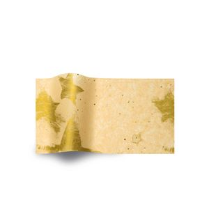 Gold Celebrations on Gold Dust, Patterns Tissue Paper