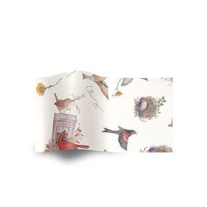 Bird's Nests, Botanical Printed Tissue Paper