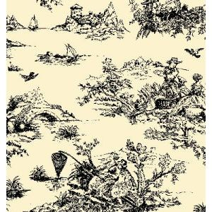 Black Toile, All Occasion Printed Tissue Paper