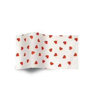 Contemporary Hearts, All Occasion Printed Tissue Paper
