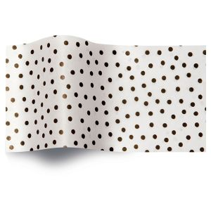 Speckled White, All Occasion Printed Tissue Paper