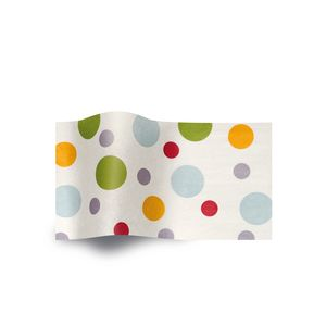 Island Dots, Printed Tissue Paper
