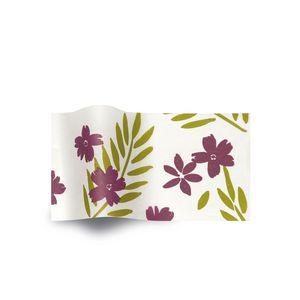 Purple Passion, Botanical Printed Tissue Paper