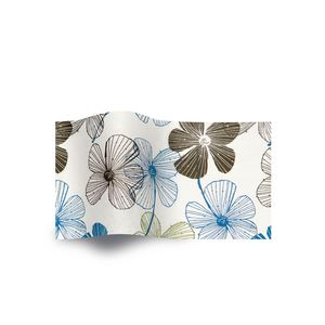 Floral Lines, Floral Tissue Paper