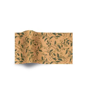 Totally Holly, Holiday & Christmas Printed Tissue Paper
