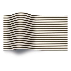 Black Stripes on White, All Occasion Printed Tissue Paper