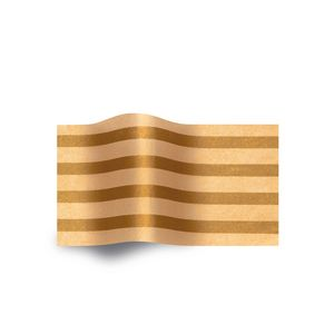 Gold Stripes/Sun Gold, Patterns Tissue Paper