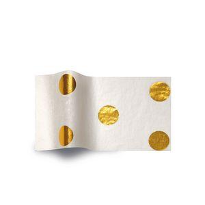 Hot Spots Gold Tissue Paper