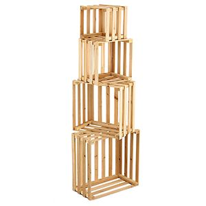 """Nested Display Crates, 9"""", 12"""", 15"""", 18"""""""