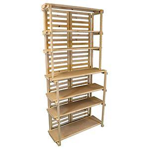 """Display Bakers Rack, 32.5""""(L) x 15""""(W) & 10""""(W) x 70"""""""