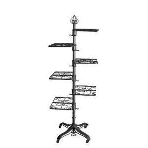 6 Shelf, Contemporary Design Display Racks