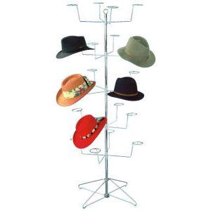 Men's Floor Display, Hat Rack