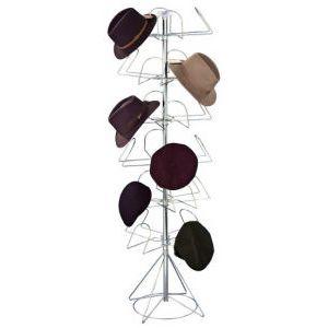 Men's Floor Display, 24-Hat Rack