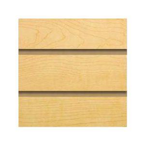 Maple, Slatwall Panels, 4' x 8'