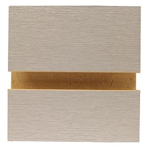 Brushed Aluminium, Slatwall Panels, 4' x 8'