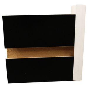 White, Plastic End Caps for Slatwall