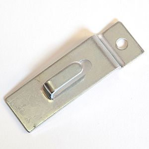 Chrome, Picture Hanger for Slatwall or Slatgrid