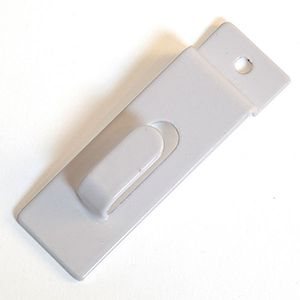 White, Picture Hanger for Slatwall or Slatgrid