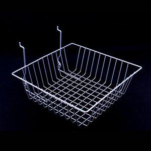 """Chrome Multi Wire Baskets, 12"""" x 12"""" x 4"""""""