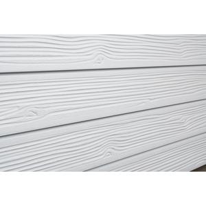 3D Barnwood Textured Slatwall, White