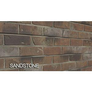 3D Bricks Textured Slatwall, Sandstone