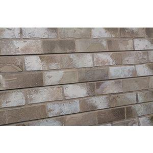 3D Bricks Textured Slatwall, Taupe