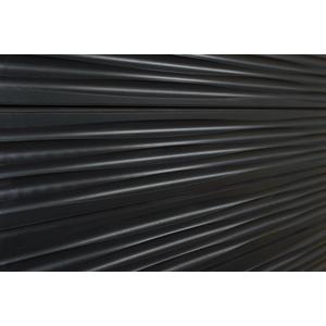 3D Linear Wave Textured Slatwall, Black