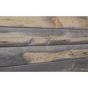 3D Wood Textured Slatwall, Blue Stain Pine