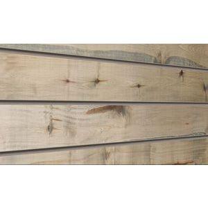 3D Wood Textured Slatwall, Driftwood