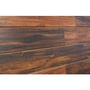3D Wood Textured Slatwall, Rosewood