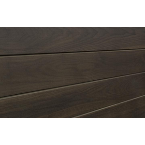 3D Wood Textured Slatwall, Walnut