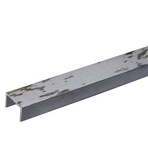 8' Aluminum Edge Trim, 3D Textured Slatwall/ Wall Panel