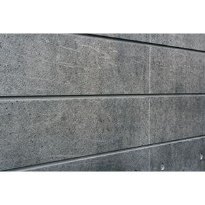 3D Textured Slatwall, Architectural Concrete Natural, 2' x 4'