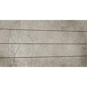 3D Textured Slatwall, Cracked Concrete Bleached, 2' x 4'