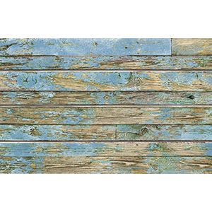 3D Textured Slatwall, Old Paint Blue, 2' x 4'