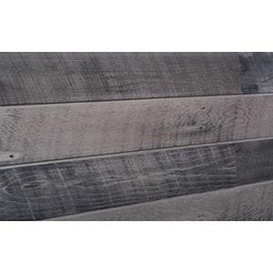3D Textured Slatwall, Wood Sawtooth Cool, 2' x 4'