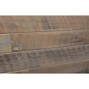 3D Textured Slatwall, Wood Sawtooth Warm, 2' x 4'