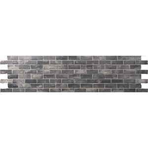 3D Wall Panels, Brick Grey, 2' x 4'