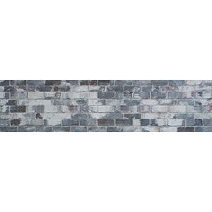 3D Wall Panels, Brick Old Paint Grey, 2' x 4'