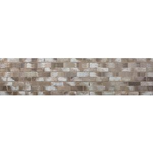 3D Wall Panels, Brick Old Paint Taupe, 2' x 8'