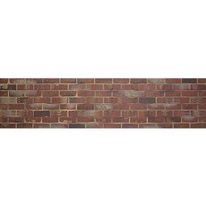 3D Wall Panels, Brick Red, 2' x 4'