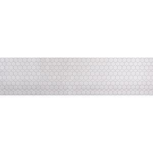 3D Wall Panels, Honeycomb Tile Light Grey, 2' x 4'