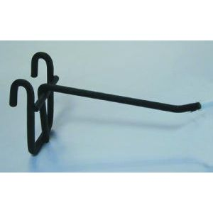 "4"" Black, Gridwall Hooks"