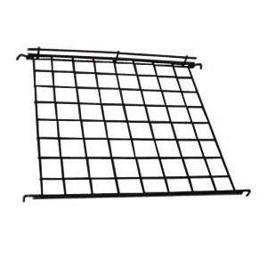 """Black, Gridwall Flat Wire Shelf , 24"""" x 24"""""""