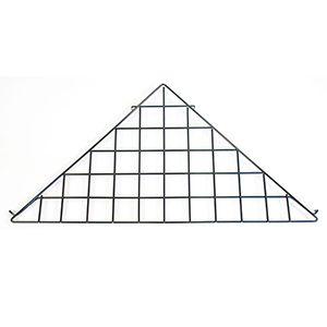 Black Triangle Shelf, Gridwall Attachment