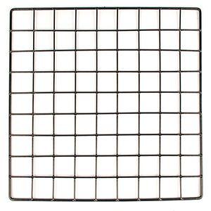 """Black, Mini Grid, 14"""" x 14"""""""