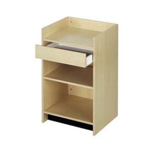 Maple, Ready To Assemble Cash Register Stand