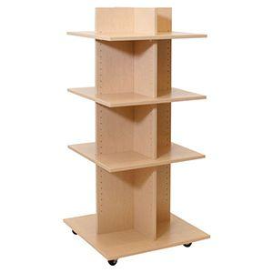 """Shelf Tower, Knock-Down Maple, 54""""x 24"""" x 24"""""""
