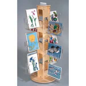 Birchwood Counter Spinner with 24 Clear pockets