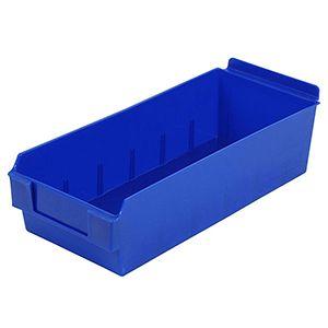 Blue, Shelfbox Long 300 Display